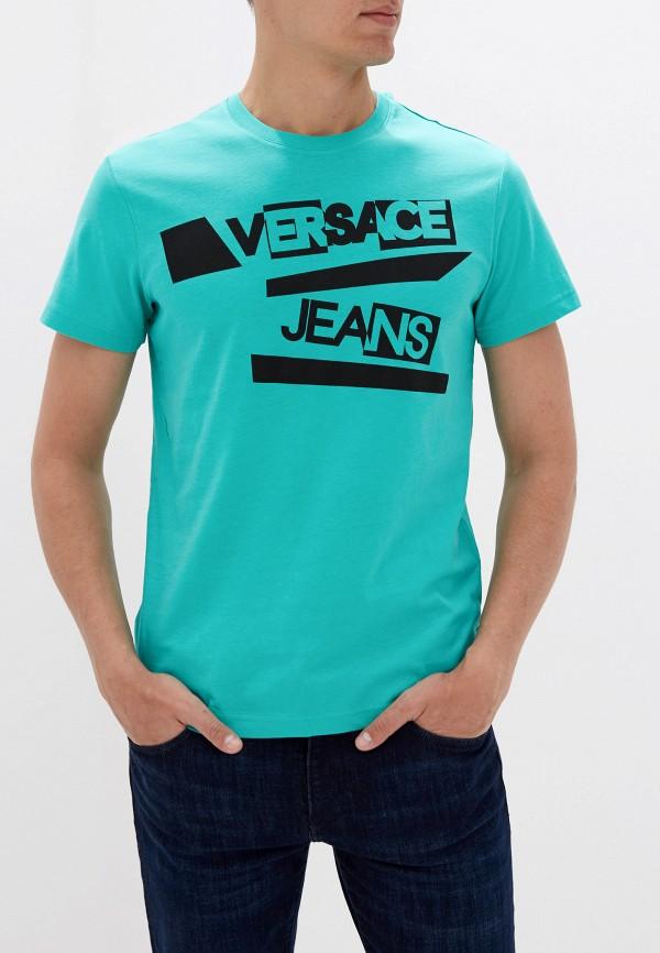 Футболка Versace Jeans Versace Jeans VE006EMEUKT3 футболка versace