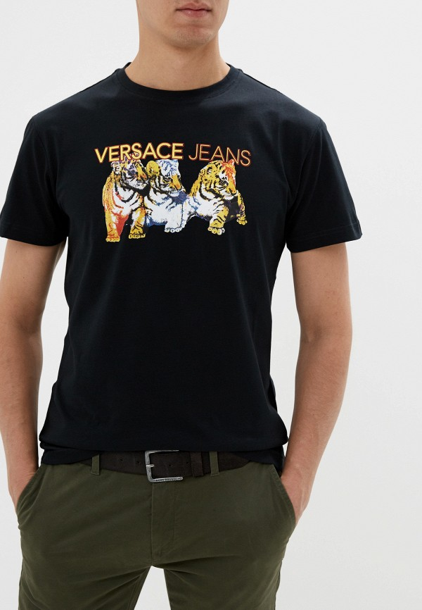 Футболка Versace Jeans Versace Jeans VE006EMEUKT9 футболка versace