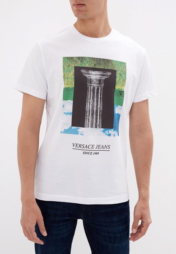 Футболка Versace Jeans Versace Jeans VE006EMEUKW7 футболка versace jeans versace jeans ve006ewubh38