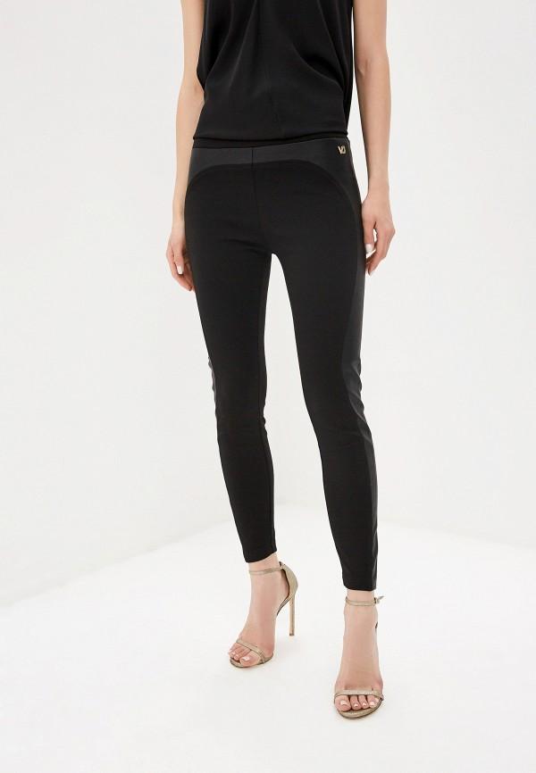 женские леггинсы versace, черные