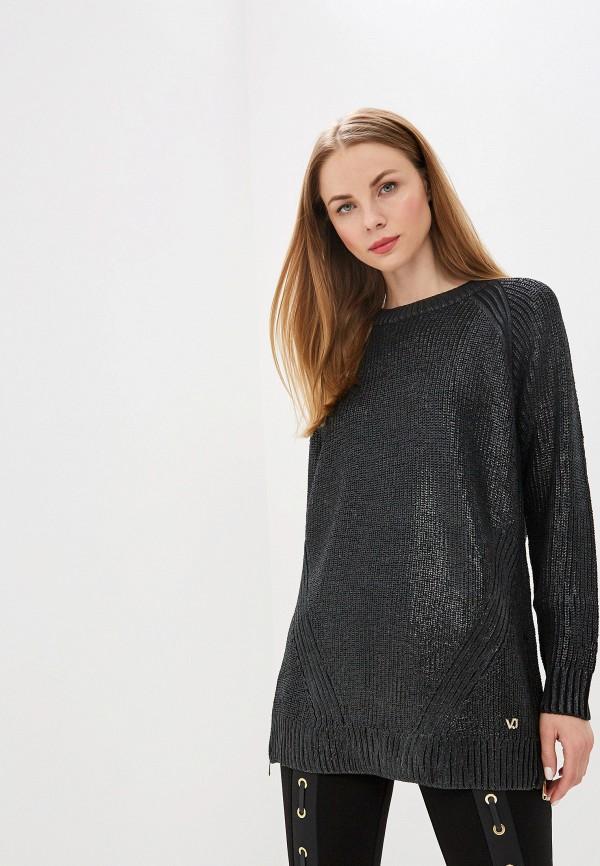 женский джемпер versace, серый