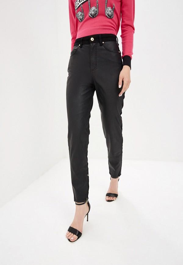 женские брюки versace, черные