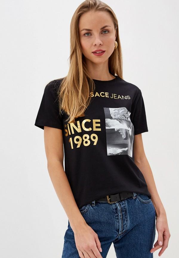 Футболка Versace Jeans Versace Jeans VE006EWEUKY5 босоножки versace jeans versace jeans ve006awahjx9