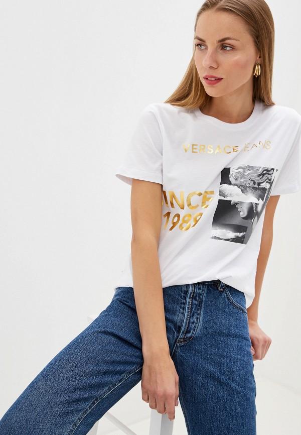 Футболка Versace Jeans Versace Jeans VE006EWEUKY6 босоножки versace jeans versace jeans ve006awahjx9