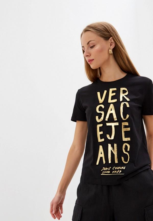 Футболка Versace Jeans Versace Jeans VE006EWEUKY7 футболка versace