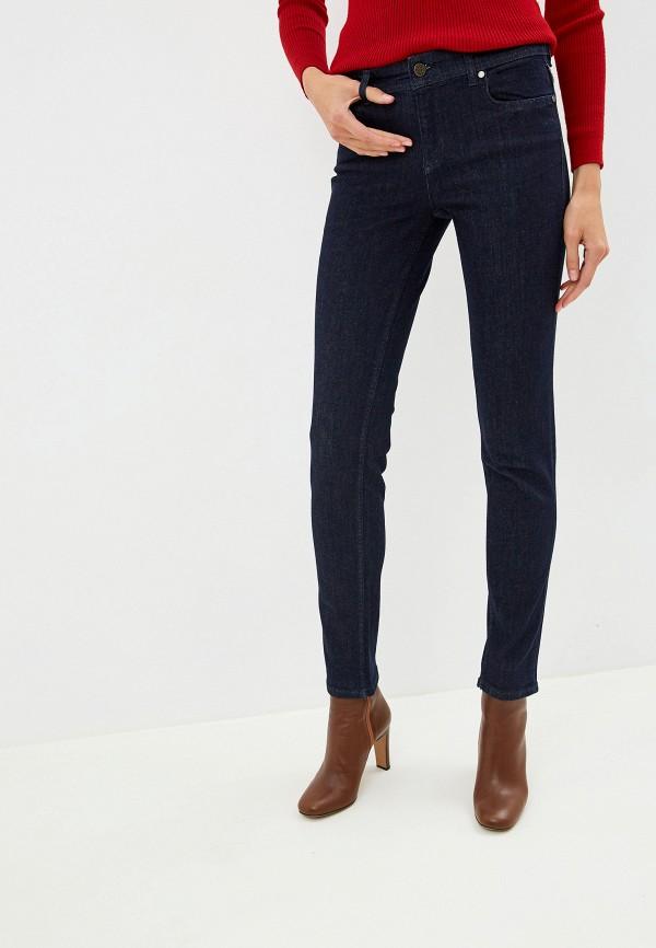 женские джинсы versace, синие
