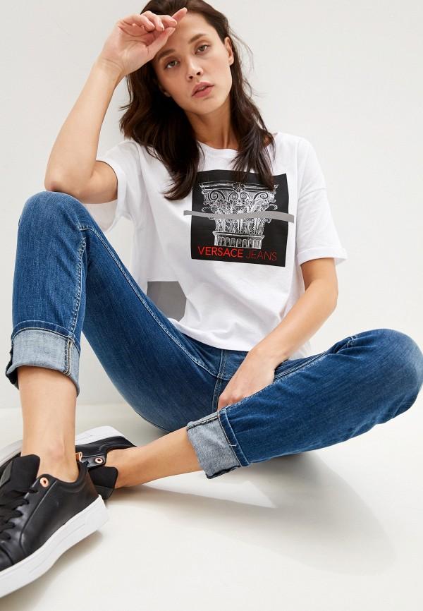 Футболка Versace Jeans Versace Jeans VE006EWEUKZ7 цена