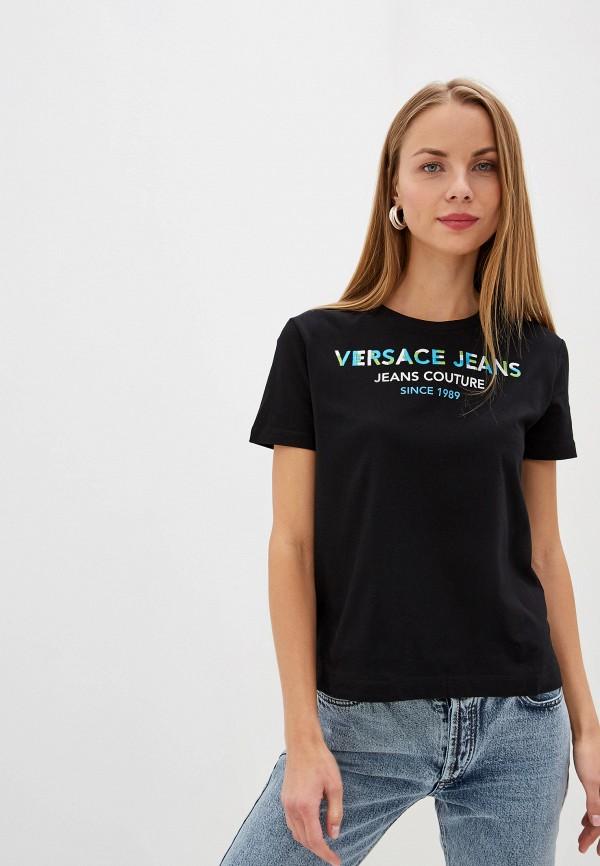 Футболка Versace Jeans Versace Jeans VE006EWEUKZ9 футболка versace jeans versace jeans ve006ewubh38