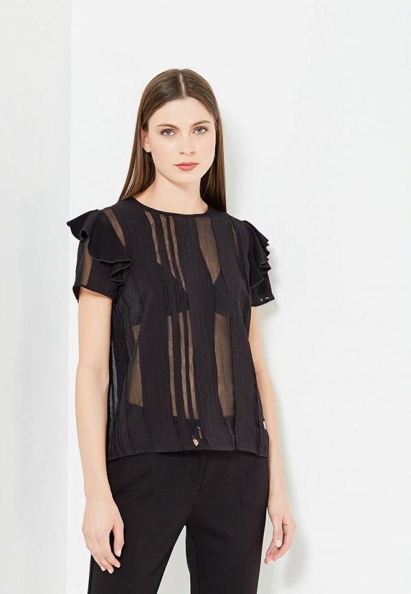 женская блузка versace, черная