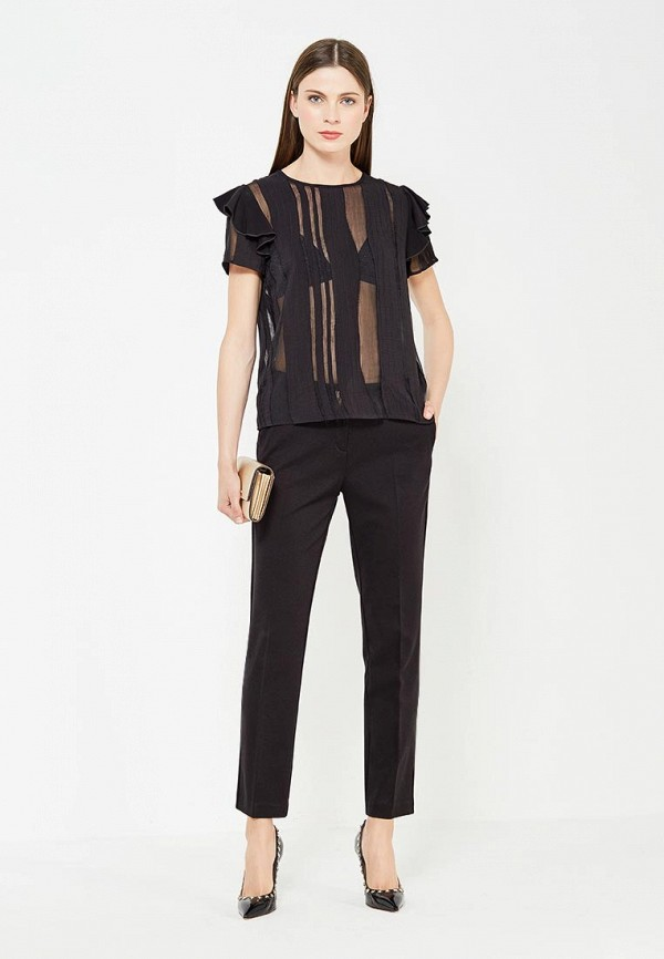 Фото 2 - Блузу Versace Jeans черного цвета