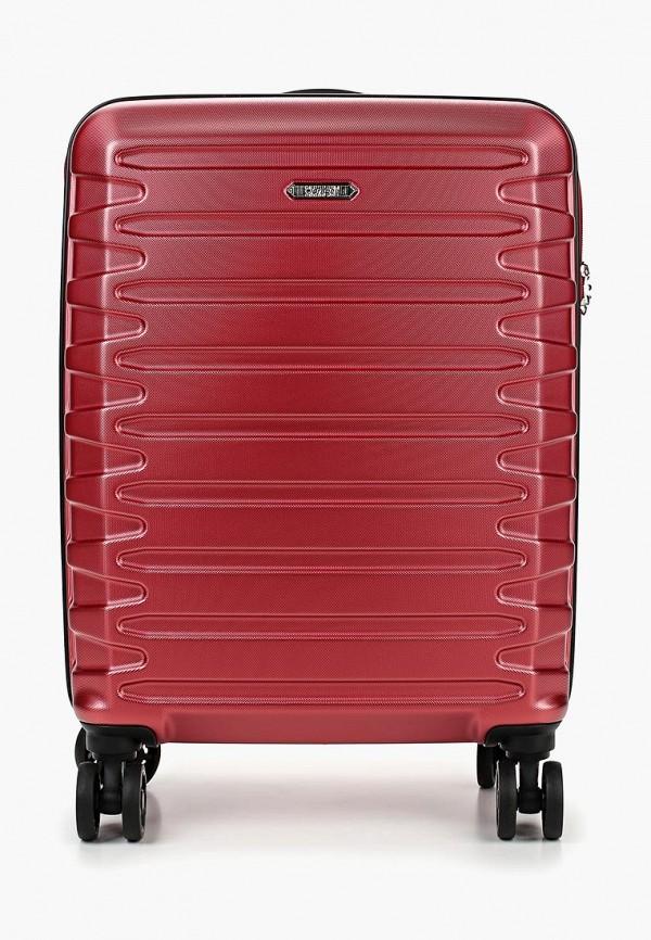женский чемодан verage, красный