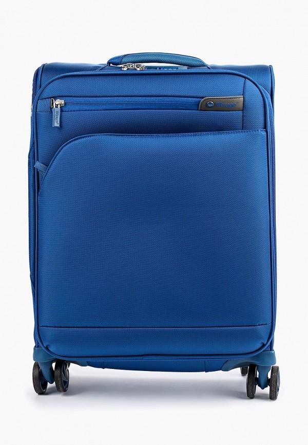 женский чемодан verage, синий