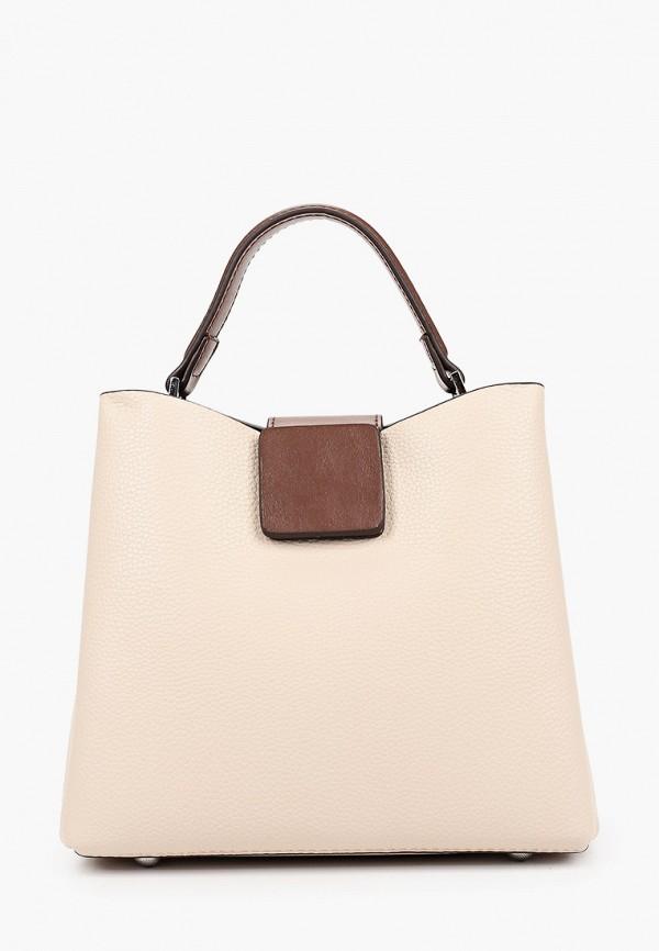 женская сумка ventoro, бежевая