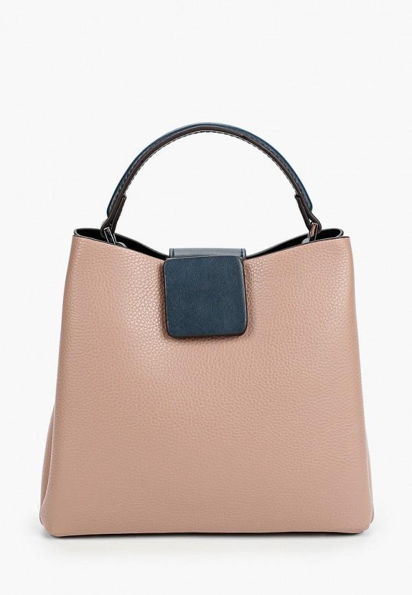 женская сумка ventoro, розовая
