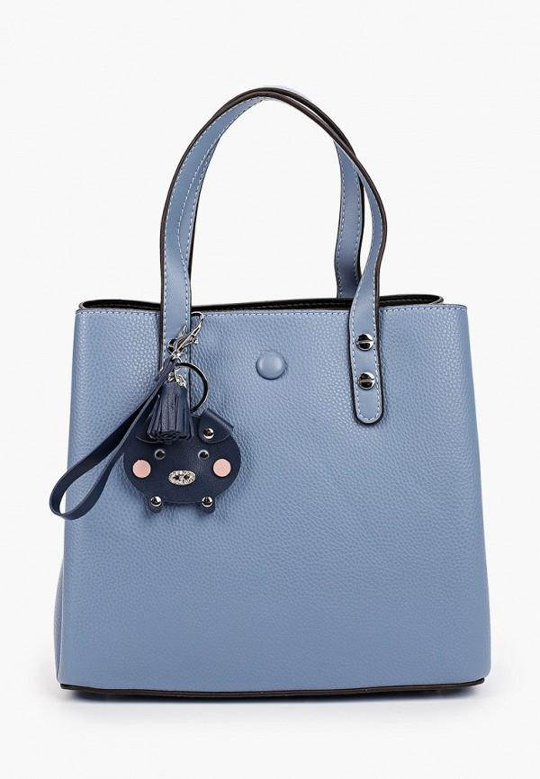 женская сумка ventoro, синяя
