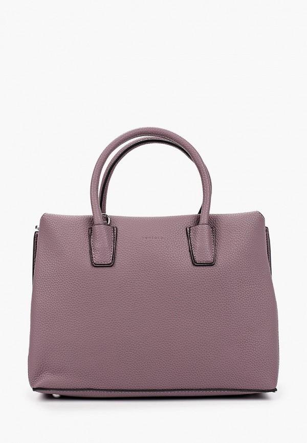 женская сумка ventoro, фиолетовая