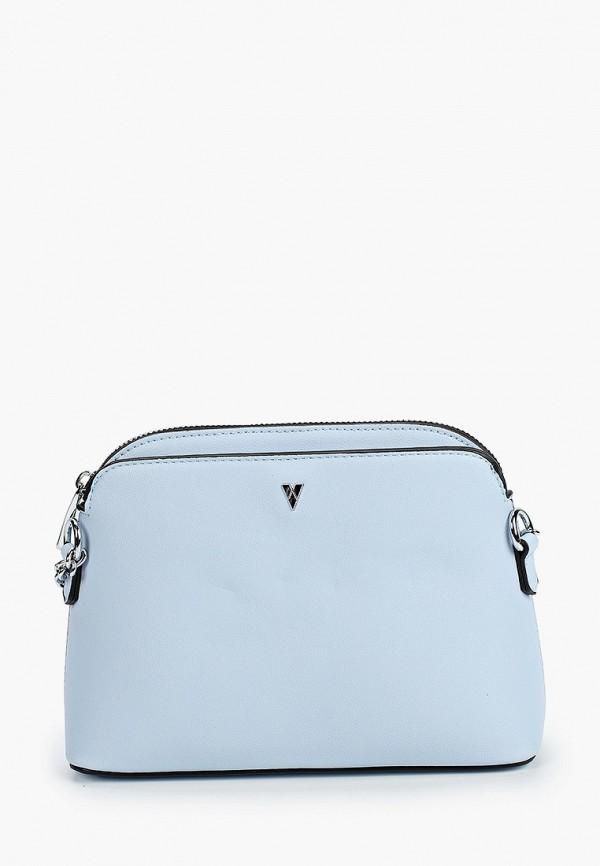 женская сумка ventoro, голубая