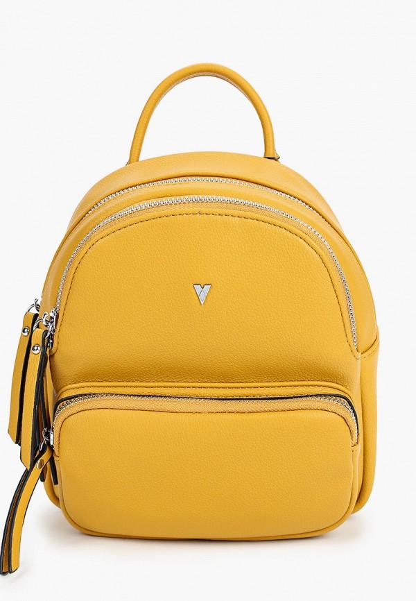 женский рюкзак ventoro, желтый