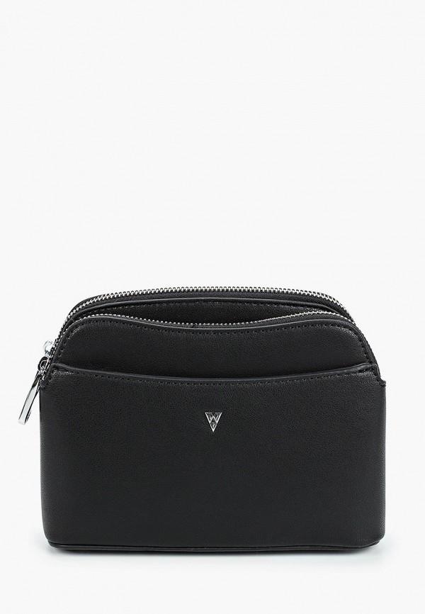 женская сумка ventoro, черная