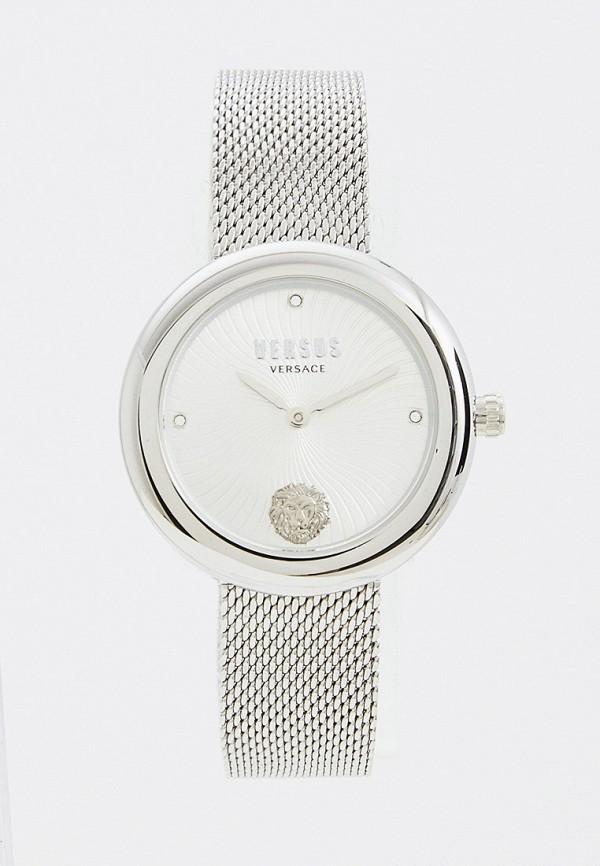 женские часы versus versace, серебряные