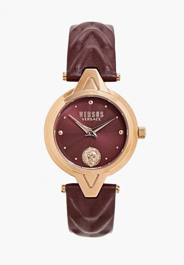 женские часы versus versace, бордовые