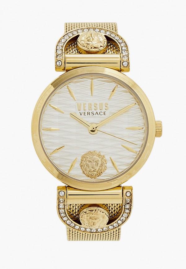 женские часы versus versace, золотые