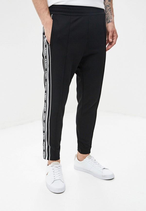 мужские спортивные спортивные брюки versus versace, черные