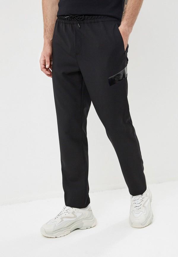 мужские повседневные брюки versus versace, черные