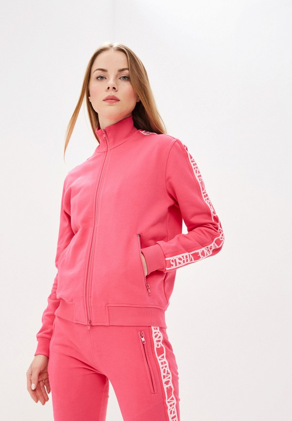 женская олимпийка versus versace, розовая