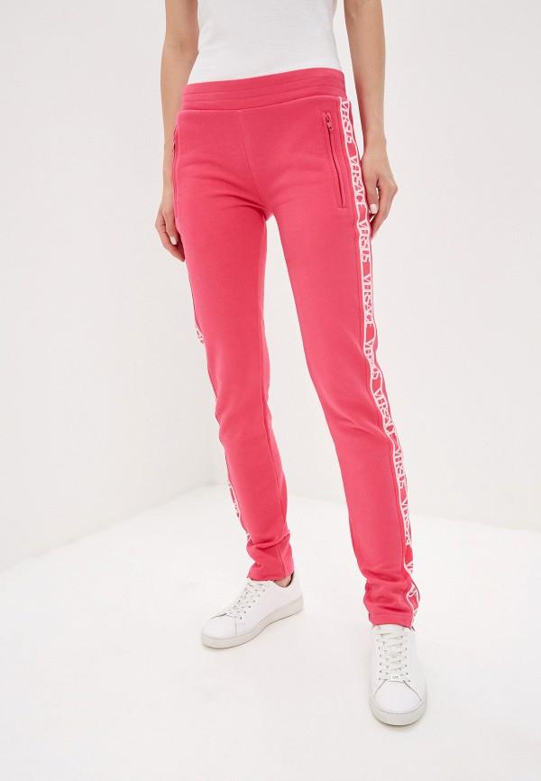женские спортивные брюки versus versace, розовые
