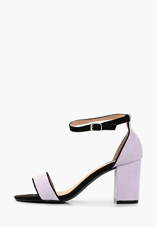 женские босоножки vera blum, фиолетовые