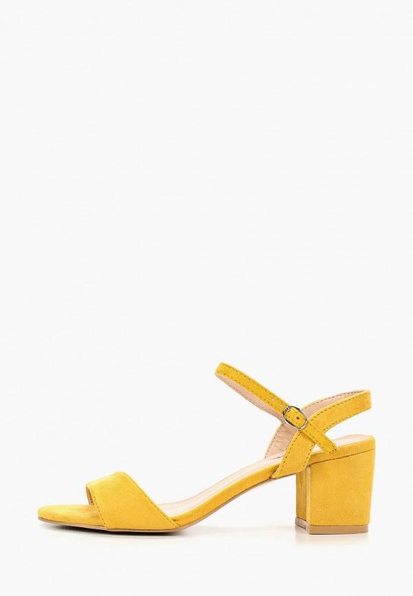 женские босоножки vera blum, желтые