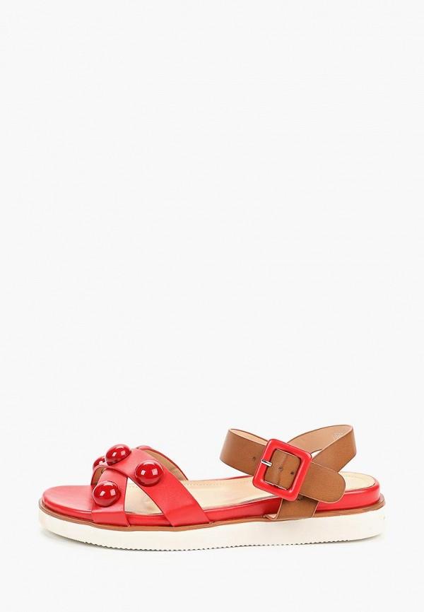 женские сандалии vera blum, красные