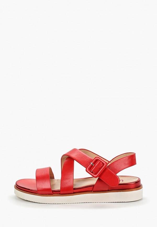 Фото - женские сандали Vera Blum красного цвета