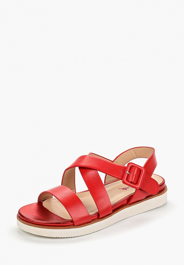Фото 2 - женские сандали Vera Blum красного цвета