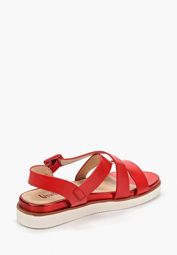 Фото 3 - женские сандали Vera Blum красного цвета