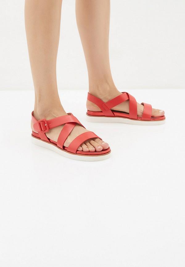 Фото 6 - женские сандали Vera Blum красного цвета