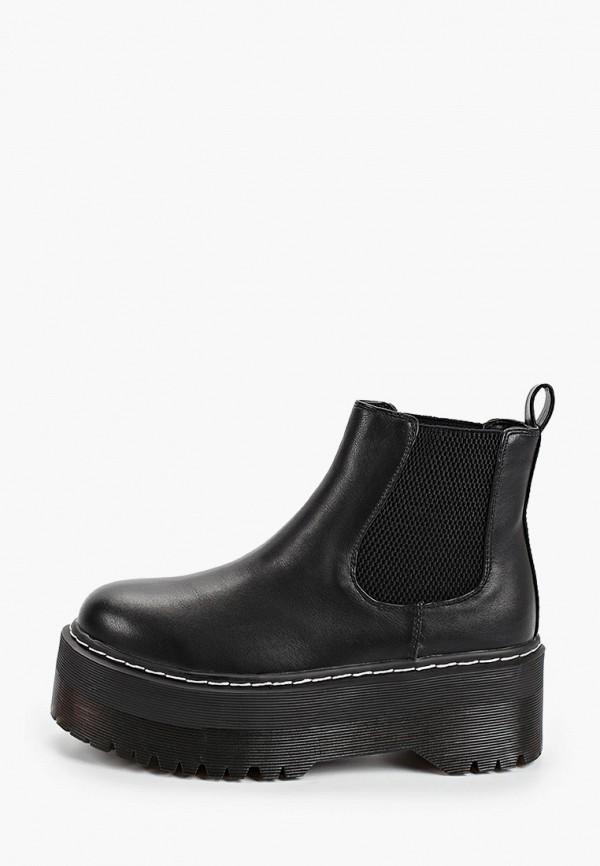 женские ботинки vera blum, черные