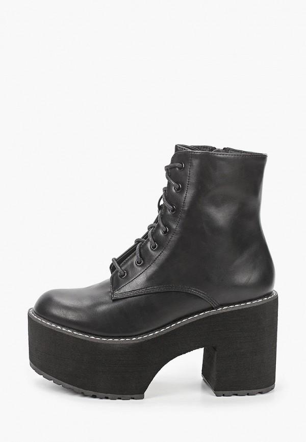 женские ботильоны vera blum, черные