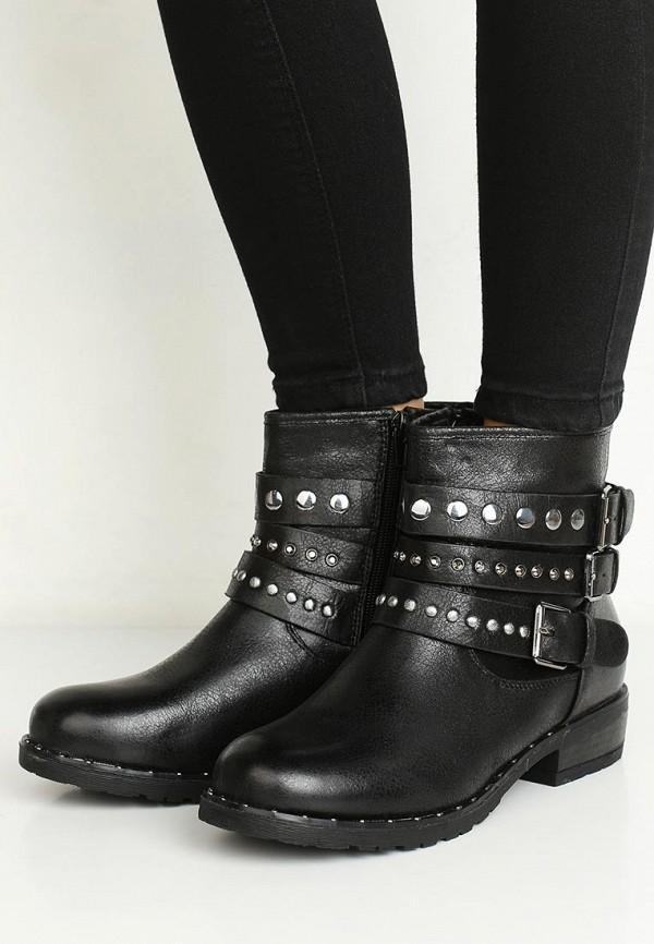 Фото 14 - женские ботинки и полуботинки Vera Blum черного цвета