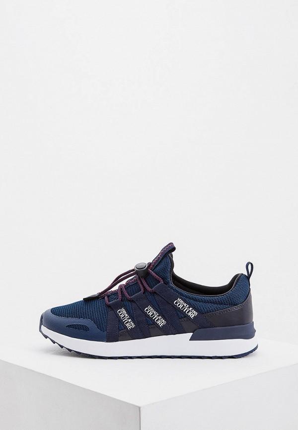 мужские низкие кроссовки versace, синие