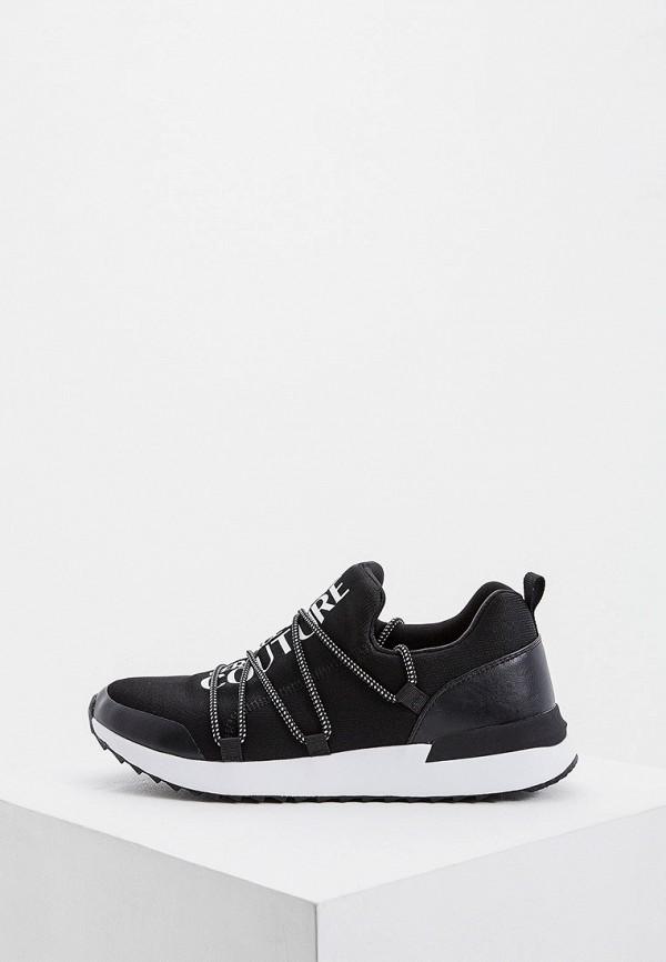 мужские низкие кроссовки versace, черные