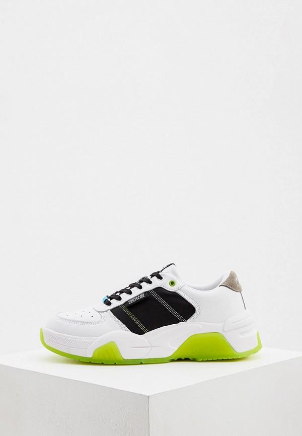 мужские кроссовки versace, белые