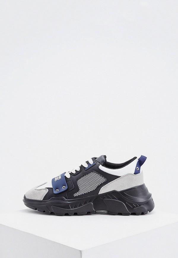 мужские кроссовки versace, синие