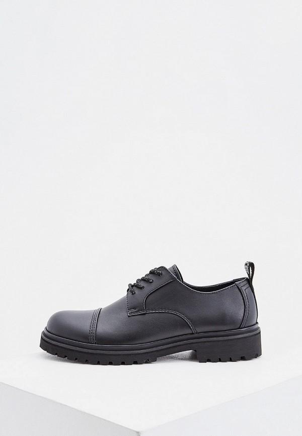 мужские ботинки versace, черные