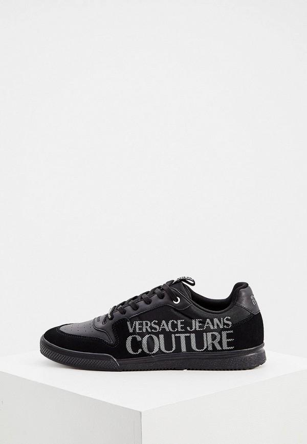 мужские кеды versace, черные