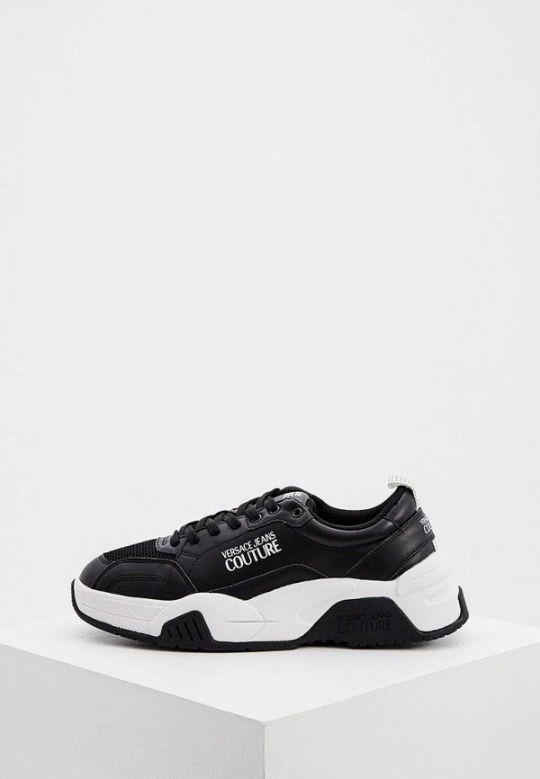 мужские кроссовки versace, черные