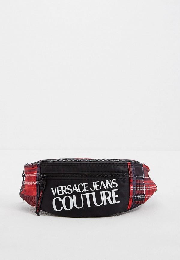 Сумка поясная Versace Jeans Couture Versace Jeans Couture VE035BMGIYM2 сумка versace jeans versace jeans ve006bwubh50