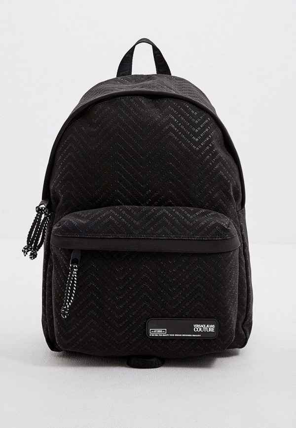 мужской рюкзак versace, черный