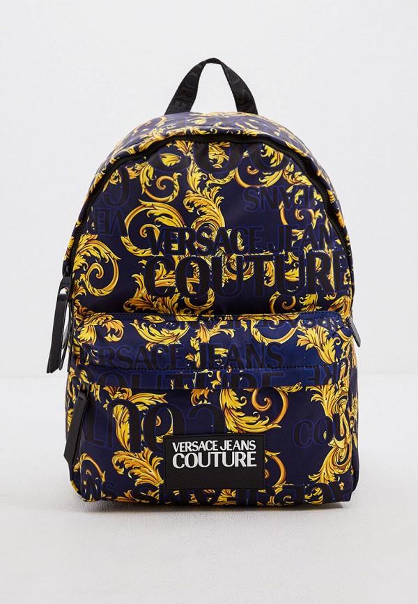 мужской рюкзак versace, синий
